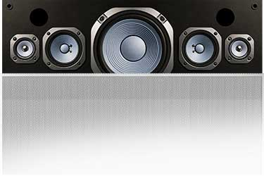 Front center speaker