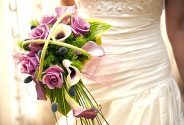 Bouquet in lilac