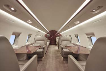 Spacious interior seating