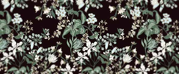 Dark floral